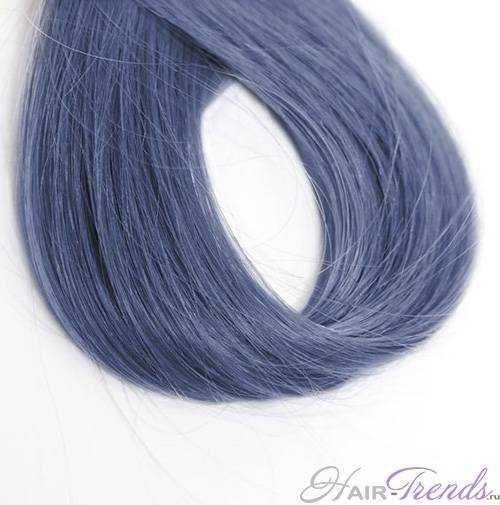 Оттенки джинсовых волос