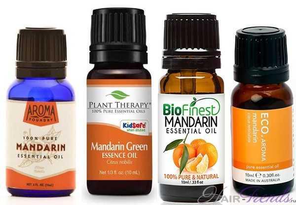Эфирное масло мандарина для волос