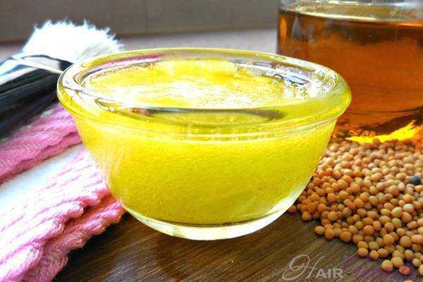 Рецепты масок для волос на основе горчичного масла