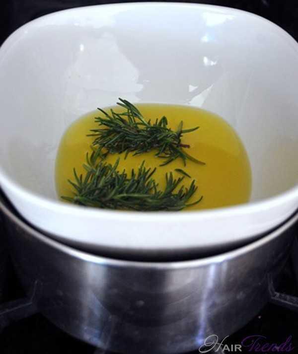 Горячее масло для волос в домашних условиях