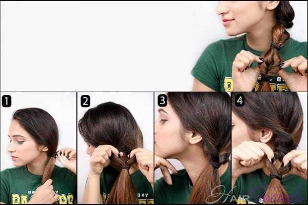 Как быстро и красиво убрать длинные волосы