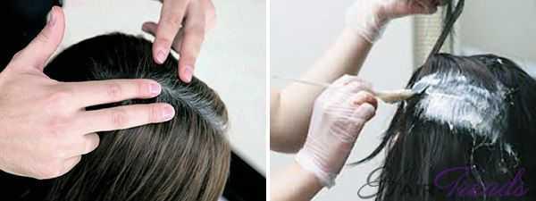 Как часто нужно красить седые волосы
