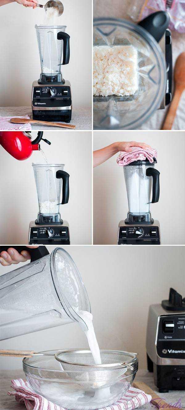 Как сделать кокосовое молоко в домашних условиях
