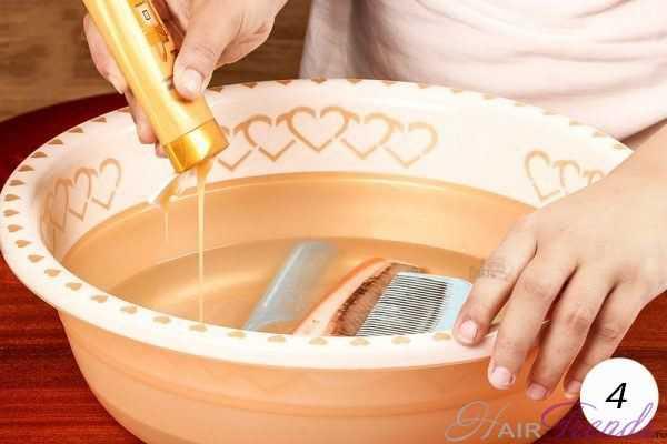 Как почистить расческу от грязи и жира в домашних условиях