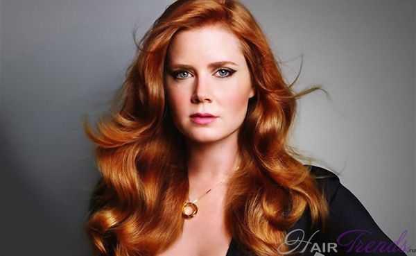 Как покрасить каштановые волосы в рыжий цвет
