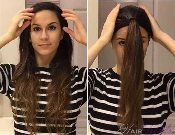 Как в домашних условиях ровно подстричь волосы самой себе 339