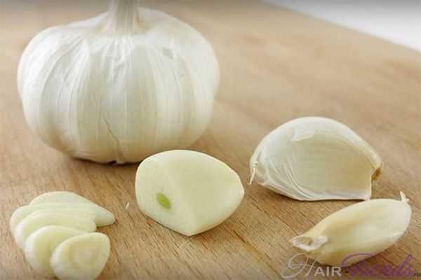 Как сделать шампунь с чесноком