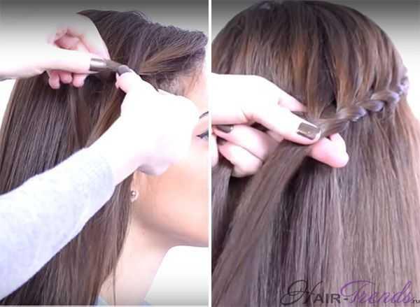Как заплести косу змейкой