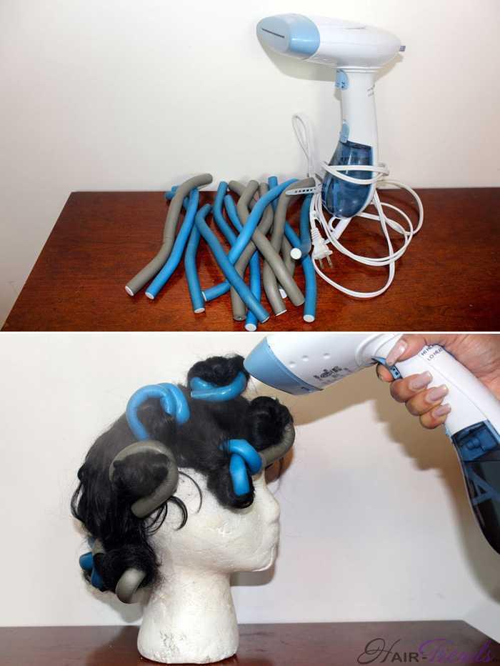 Как завивать синтетические волосы
