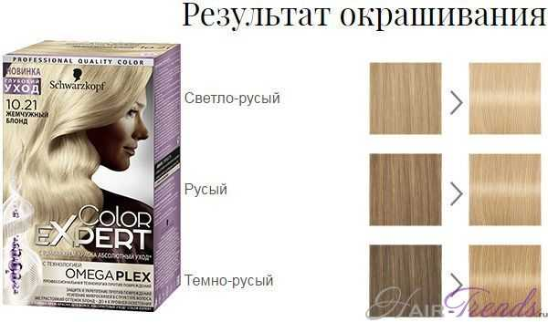 Шварцкопф Колор Эксперт 10.21 Жемчужный блонд