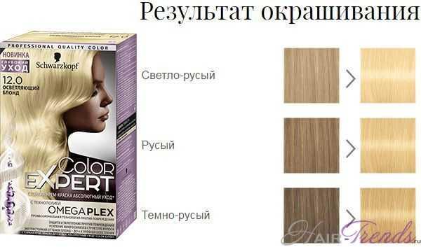Шварцкопф Колор Эксперт 12.0 Осветляющий блонд