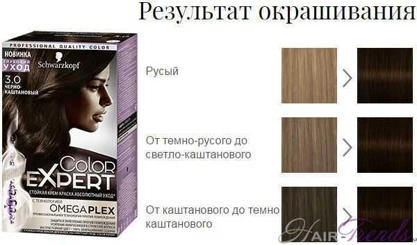 Шварцкопф Колор Эксперт 3.0 Черно-каштановый