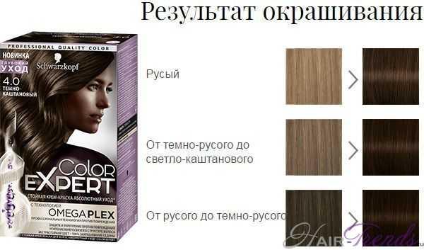 Шварцкопф Колор Эксперт 4.0 Темно-каштановый