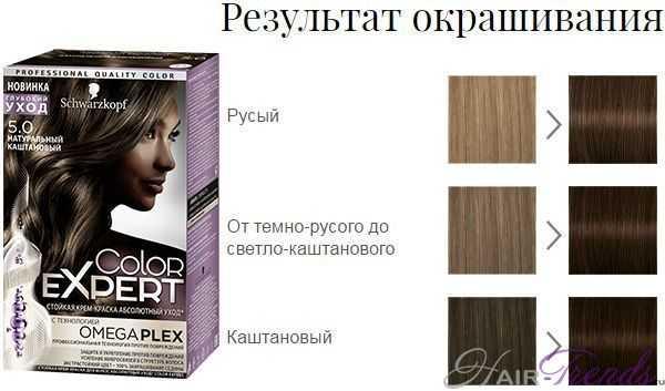 Шварцкопф Колор Эксперт 5.0 Натуральный Каштановый