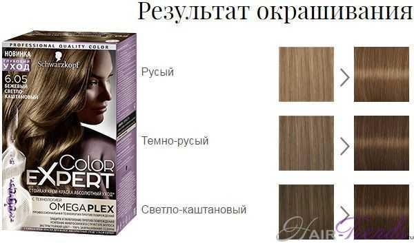 Шварцкопф Колор Эксперт 6.05 Бежевый светло-каштановый