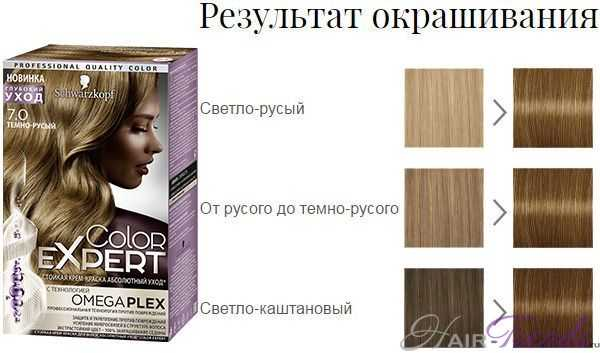 Шварцкопф Колор Эксперт 7.0 Темно-русый