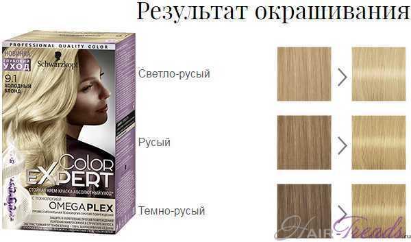 Шварцкопф Колор Эксперт 9.1 Холодный блонд