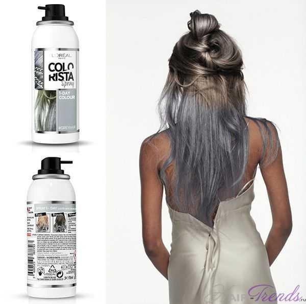 L'Oreal Colorista Волосы Металлик