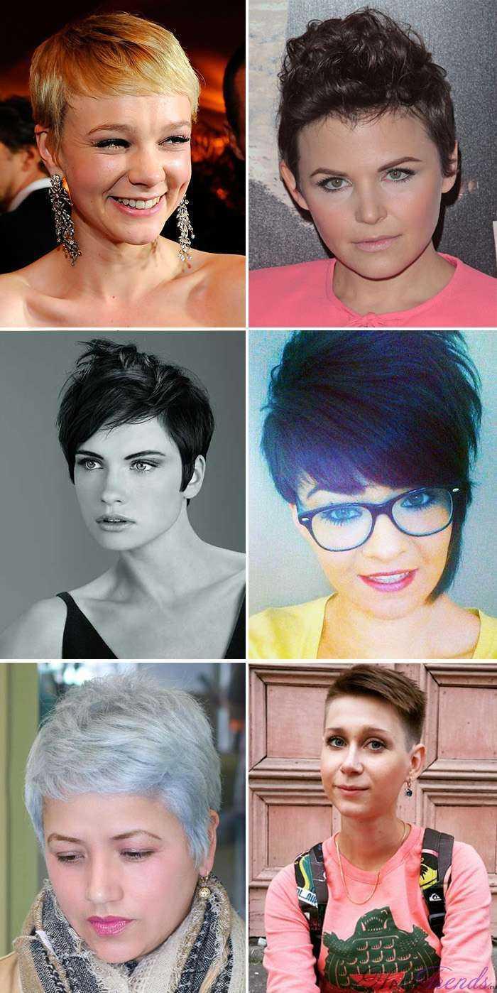Женские причёски для круглолицых