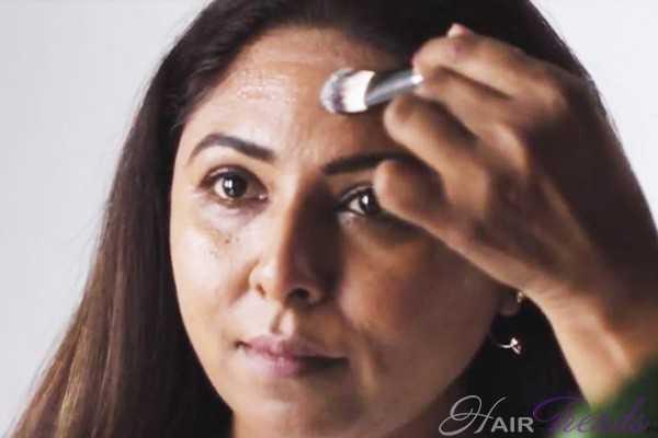 Коррекция роста волос на лбу