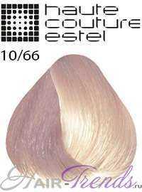 Краска Эстель Кутюр 10/66, цвет Светлый блондин фиолетовый интенсивный