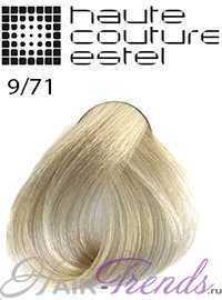 Краска Эстель Кутюр 9/71, цвет Блондин коричнево-пепельный