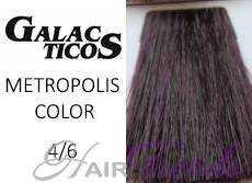 Краска Галактика 4.6, цвет шатен фиолетовый