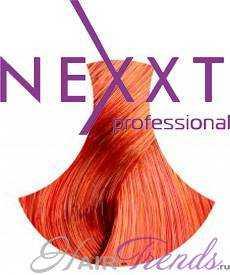 NEXXT Professional 7.44, тон средний русый насыщенно-медный