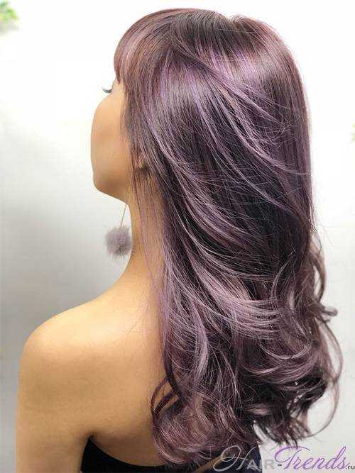 Лучшие оттенки фиолетового цвета волос