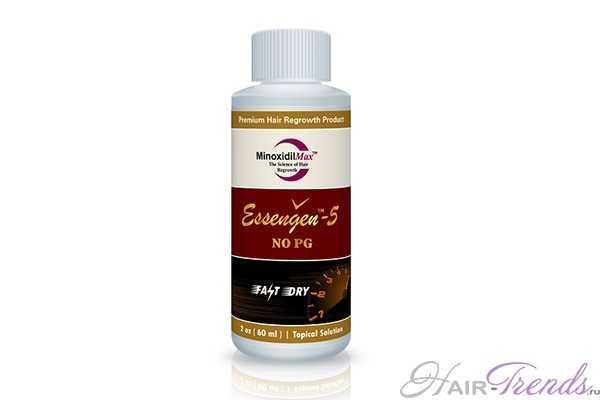 Миноксидил essengen-5, не содержащий пропиленгликоль