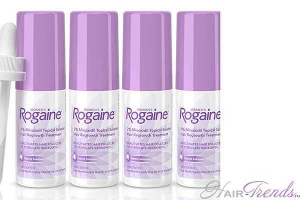 Пена Rogaine и жидкость Rogaine