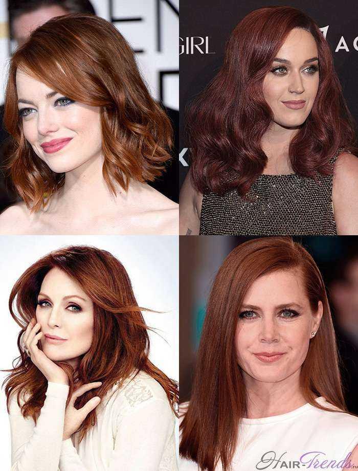 Модное окрашивание русых волос