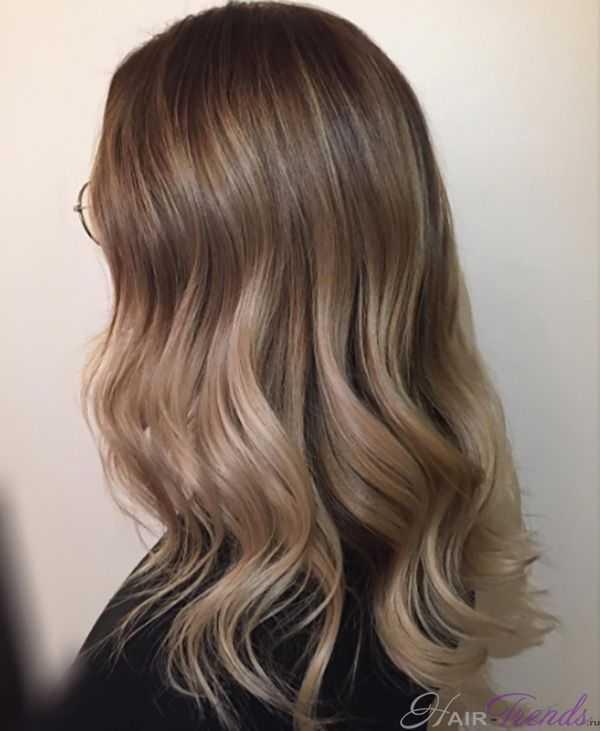 Нюдовый цвет волос