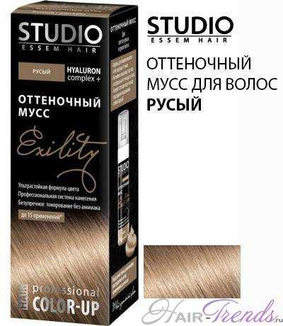 Оттеночный мусс STUDIO РУСЫЙ