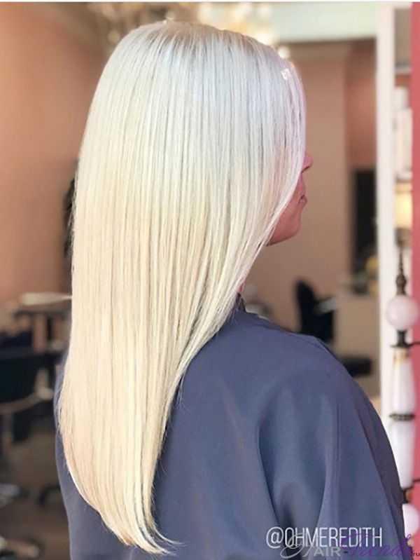 Оттенок волос зефир