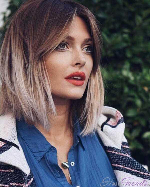 Покраска волос омбре