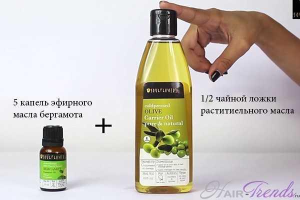 Применение масла бергамота для волос