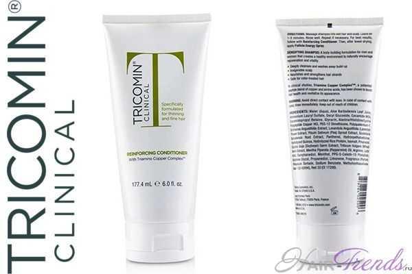 Шампунь и спрей Трикомин для лечения выпадения волос
