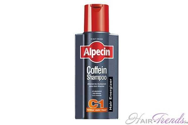 Шампунь с кофеином от выпадения волос