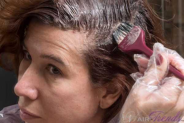 Свинец в краске для волос