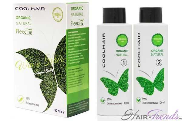 Состав средства для флисинга Coolhair Organic natural