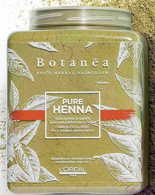 Травяная краска L'Oreal Botenea с хной